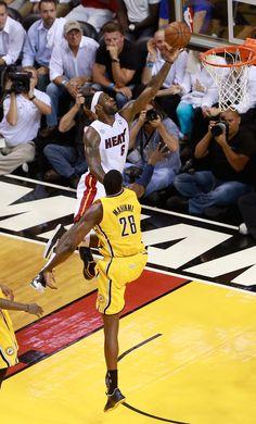 LeBron James - Indiana Pacers v Miami Heat