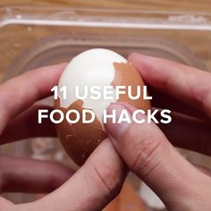 11 Useful Food Hacks