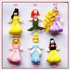 Disney princess hair clip