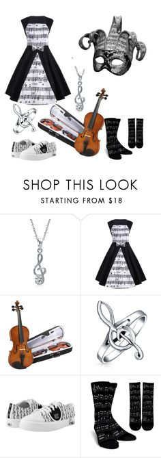 """The Death Of Music~"" by adriana4-life on Polyvore featuring Bling Jewelry and windsor."