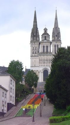 Angers France by Mademoiselle Maurice