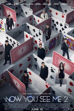 Twenty-five new images and eight posters for NOW YOU SEE ME 2 starring Jesse Eisenberg, Woody Harrelson, Dave Franco, Lizzy Caplan, Mark Ruffalo and Daniel Radcliffe. Hindi Movies, New Movies, Good Movies, Movies And Tv Shows, 2016 Movies, Watch Movies, Latest Movies, Tv Watch, Awesome Movies