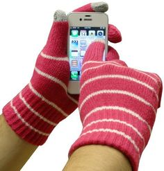 Text Gloves - Pair of Texting Glove For Touch Screen Phones