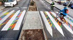 Color crosswalk