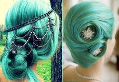 Hair - Creative Ideas love the color and the style