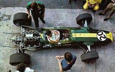 1967 Monza Jim Clark Lotus 49