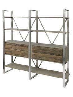 Colgan Bookshelf from Your Dream Closet #goals on Gilt