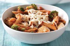 Fresh Broccoli and Chicken Pasta Toss