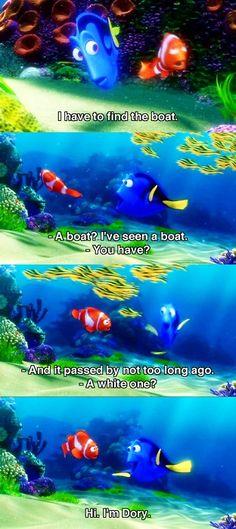 Dory and Marlin. Dory is so funny! Disney Pixar Movies, Disney Memes, Disney Quotes, Disney And Dreamworks, Disney Cartoons, Funny Disney, Disney And More, Disney Love, Disney Magic