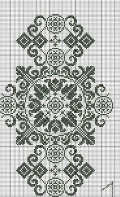 This Pin was discovered by Fot Needlepoint Patterns, Embroidery Patterns, Cross Stitch Embroidery, Cross Stitch Patterns, Cross Stitch Collection, Pixel Pattern, White Crosses, Filet Crochet, Mittens