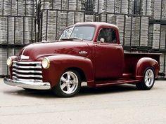 54 Chevy Truck, Chevy 3100, Chevy Pickups, Chevrolet Trucks, Vintage Pickup Trucks, Classic Pickup Trucks, Antique Trucks, Vintage Cars, Vintage Photos