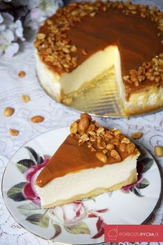 Baklava Cheesecake, Cheesecake Recipes, Cookie Desserts, Cookie Recipes, Dessert Recipes, Original Cake Recipe, Polish Recipes, Food Cakes, Let Them Eat Cake
