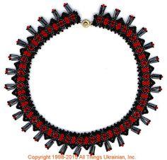 AllThingsUkrainian.com gherdany Bead Jewelry  # GN15147