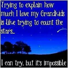 How much do we love grandchildren?