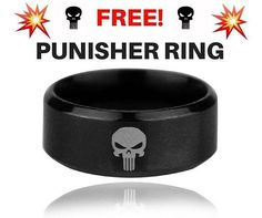 RAD STUFF are giving a way a FREE For ONLY 24hrs ($0) Punisher Ring  Just pay shipping ONLY AVAILABLE FOR The Next 24hrs Link in bio!  Or Get Yours Here @shop_Rad_Stuff @shop_Rad_Stuff . . . #punisher #ring #free #defenders #marvel #marvelcomics #Comics #blackpanther #comicbooks #avengers #dccomics #xmen #captainamerica #ironman #thor #hulk #giveaway #spiderman #inhumans #civilwar #lukecage #dc #Logan #guardiansofthegalaxy #deadpool #wolverine #drstrange #infinitywar #thanos #magneto
