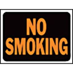 HY-KO Products Sign No Smoking 3013 9 In. X12 In. (Must Order By 10) - 3013