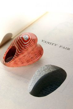 ring made of books