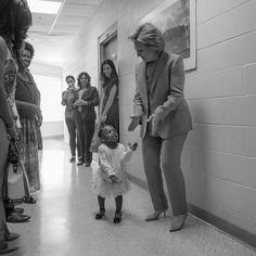 """Whether you like her policies or not!Just like Obama! Hillary as president will be a major first!And an important symbol and role model! for over half the population of this planet!!!Hillary Clinton on Twitter: """"To every little girl who dreams big: Yes, you can be anything you want—even president. Tonight is for you. -H"""