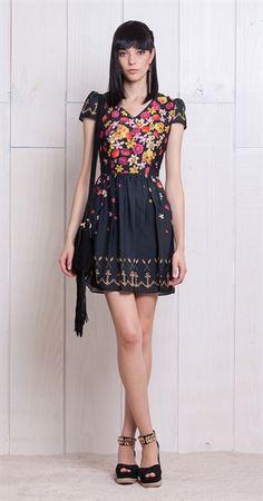 Só na Antix Store você encontra Vestido Renda Remaflor  com exclusividade na internet