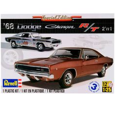 Revell 1968 Dodge Charger 2'N 1 Model Kit