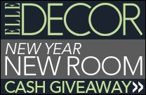 Have a room that needs a makeover? Would $50,000 help? ELLE DECOR New Year New Room Sweepstakes