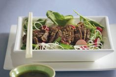 Japanse biefstukmaaltijdsalade - Recept - Allerhande