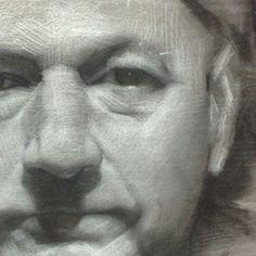 David Jon Kassan charcoal on toned paper