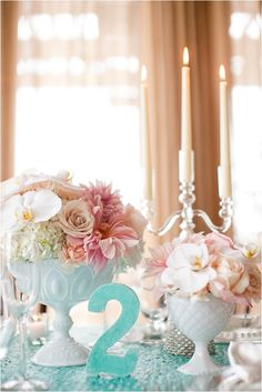 Le Magnifique Blog: Elegant Turquoise and Grey Wedding Inspirational Shoot by Becca Rillo Photography