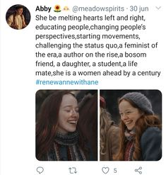 Anastasia Musical, Gilbert And Anne, Memes, Gilbert Blythe, Anne With An E, Anne Shirley, Fandoms, Movies Playing, Cuthbert