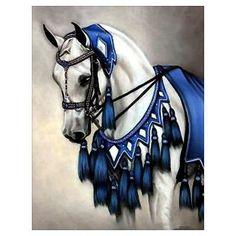 Arab in Blue