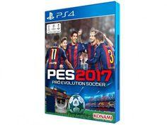 Pro Evolution Soccer 2017 para PS4 - Konami com as melhores condições você encontra no Magazine Jc79. Confira!