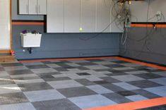 50 Garage Paint Ideas For Men - Masculine Wall Colors And Themes Garage Color Ideas, Garage Paint Colors, Wall Colors, Garage Ideas, Colours, Garage Interior, Interior Paint, Interior Design, Garage Design