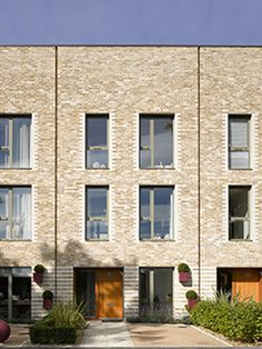 Home - MaccreanorLavington Architects Detail Architecture, English Architecture, Brick Architecture, Residential Architecture, Modern Townhouse, Townhouse Designs, Small Buildings, Modern Buildings, Building Facade