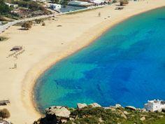 Mylopotas beach off season