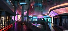 AENiGMA - Cyberpunk Concept Art by W-E-Z on DeviantArt