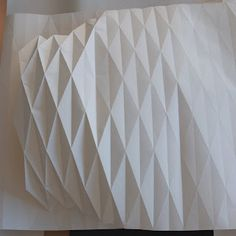 how to fold a lamp I bought a roll of sketch paper from Ikea in the kid section. The reason why we chose this paper is because of the pric. Origami Lampshade, Paper Lampshade, Lampshades, Origami Paper Art, Diy Paper, Paper Crafts, Origami Templates, Origami Tutorial, Box Templates