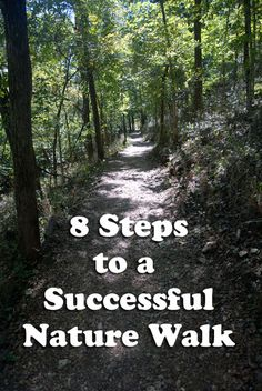 8 Steps to a Successful Nature Walk | The Holistic Homeschooler