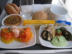 Lufthansa | 18 Airline Foods From Around The World