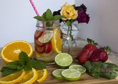 6 Easy, delicious DETOX WATER recipes with fruits, veggies and herbs. Hydrate and detoxify your body naturally, without added sugar, dyes or preservatives.