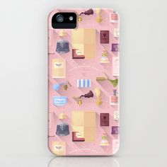 The Grand Budapest Hotel · Pattern iPhone & iPod Case by Lorena G  - $35.00