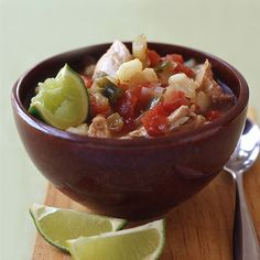 Slow Cooker Chicken Posole Recipe | Weight Watchers