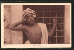 Lehnert & Landrock: Jeune arabe 191