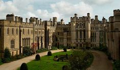 The Quadrangle at Arundel Castle