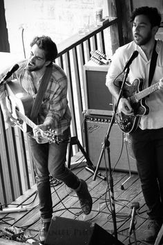 Robbie Arnett and Graham Fink--Milo Greene --Austin TX  @MiloGreene