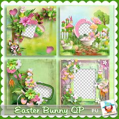 Easter Bunny Quick pages by Kastagnette