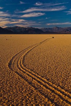 Racetrack, Death Valley, California