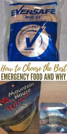 How to Choose the Best Emergency Food and Why - As a general rule of thumb, you want foods that A) Take up low volume, and B) Contain high calories. By finding foods with those two qualities, you'll be able to maximize the space in your home or bug out bag.