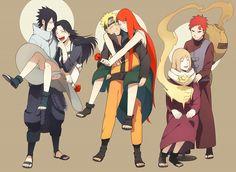 Tags: Anime, NARUTO, Uzumaki Naruto, Uchiha Sasuke, Mother, Gaara, Uzumaki Kushina