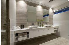 Bathroom - basins, cabinetry, colours