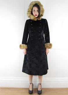 Vintage 60's BEST Russian Princess Coat by TimeBanditsVintage, $350.00